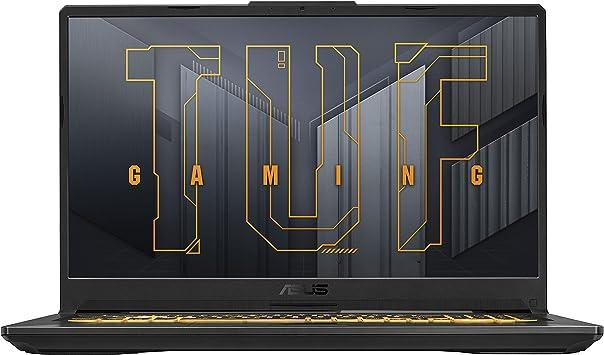 Игровой ноутбук ASUS TUF Gaming F17, 17,3-дюймовый Full HD IPS-тип с частотой 144 Гц, процессор Intel Core i7-11800H, GeForce RTX 3050 Ti, 16 ГБ DDR4, 512 ГБ PCIe SSD, гигабитный Wi-Fi 6, Windows 10 Home, TUF706HE-DS74