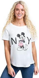 Disney Women's MICKEY MOUSE NEW YORK T - Shirt