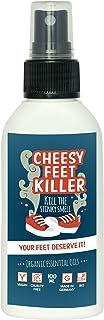 Shoe Deodorizer Spray by Cheesy Feet Killer I 100 ml I