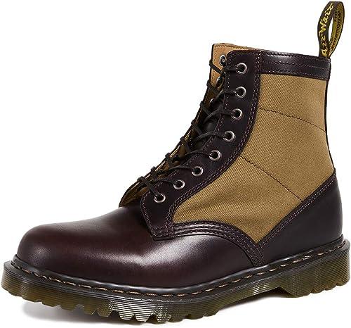 Dr. Martens - Fabriqué en Angleterre - bottes bottes 1460 Pascal Chocolate Military  vente en ligne