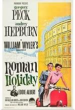 GREATBIGCANVAS Poster Print Roman Holiday, Eddie Albert, Gregory Peck, Audrey Hepburn, 1953 by 24