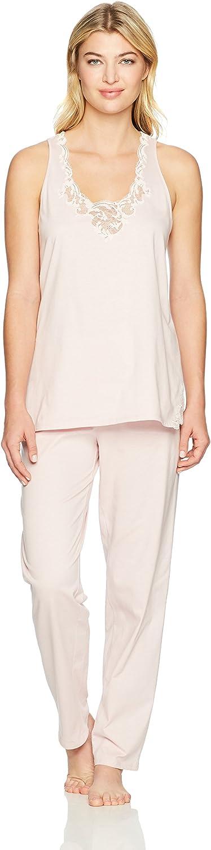Natori Women's Bliss Cotton with Lace Pj