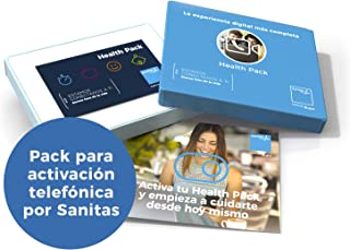 SANITAS Health Pack Nutrición + Entrenador Personal - Plan personalizado de 3 meses para alcanzar hábitos saludables de Ejercicio y Nutrición (Pack para activación telefónica por Sanitas)
