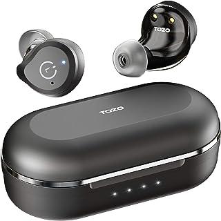 TOZO NC9 完全ワイヤレスイヤホンBluetoothイヤホン Bluetooth 5.0 ANCイヤホン ワイヤレス ノイズキャンセリング機能搭載 ワイヤレス イヤホン タッチコントロール TWS高音質 イヤフォン カナル型イヤホン 充電...