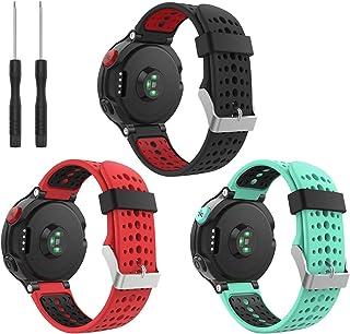 comprar comparacion kitway Compatible con Forerunner 235 Correa de Reloj, Banda de Reemplazo Silicona Suave Sports Pulsera para Forerunner 235...