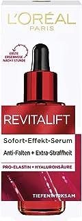 L'Oréal Paris Revitalift Hyaluron Sérum de efecto inmediato, con pro-Elastin y ácido hialurónico, sérum facial antiarrugas, para piel suave y tersa, 30 ml