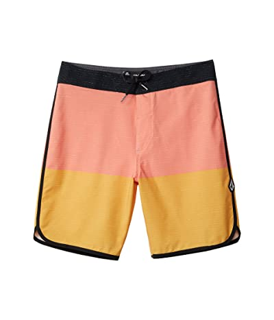 Volcom Kids Lido Scallop Mod (Big Kids) (Mineral Yellow) Boy