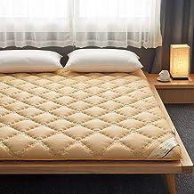 Folding Tatami Mattress,Thick Premium Mattress Pad,Japanese Floor Mattress Folding Tatami Floor Mat,Roll Up Mattress for D...