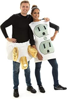 Plug and Socket Couples Halloween Costume - One-Size Sexy, Funny Adult Suits
