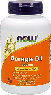 NOW Foods, BORAGE OIL 240mg 120 SGELS (Multi-Pack)