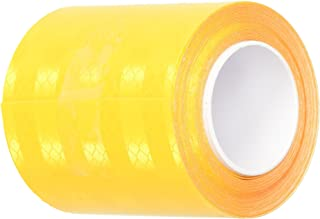 3M 3431 Yellow Micro Prismatic Sheeting Reflective Tape, 0.875