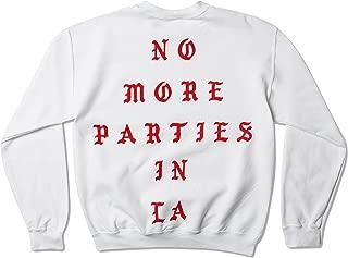 Life Pablo No More Parties in La Los Angeles Pop up Crewneck Kanye Yeezy TLOP Yeezus Saint