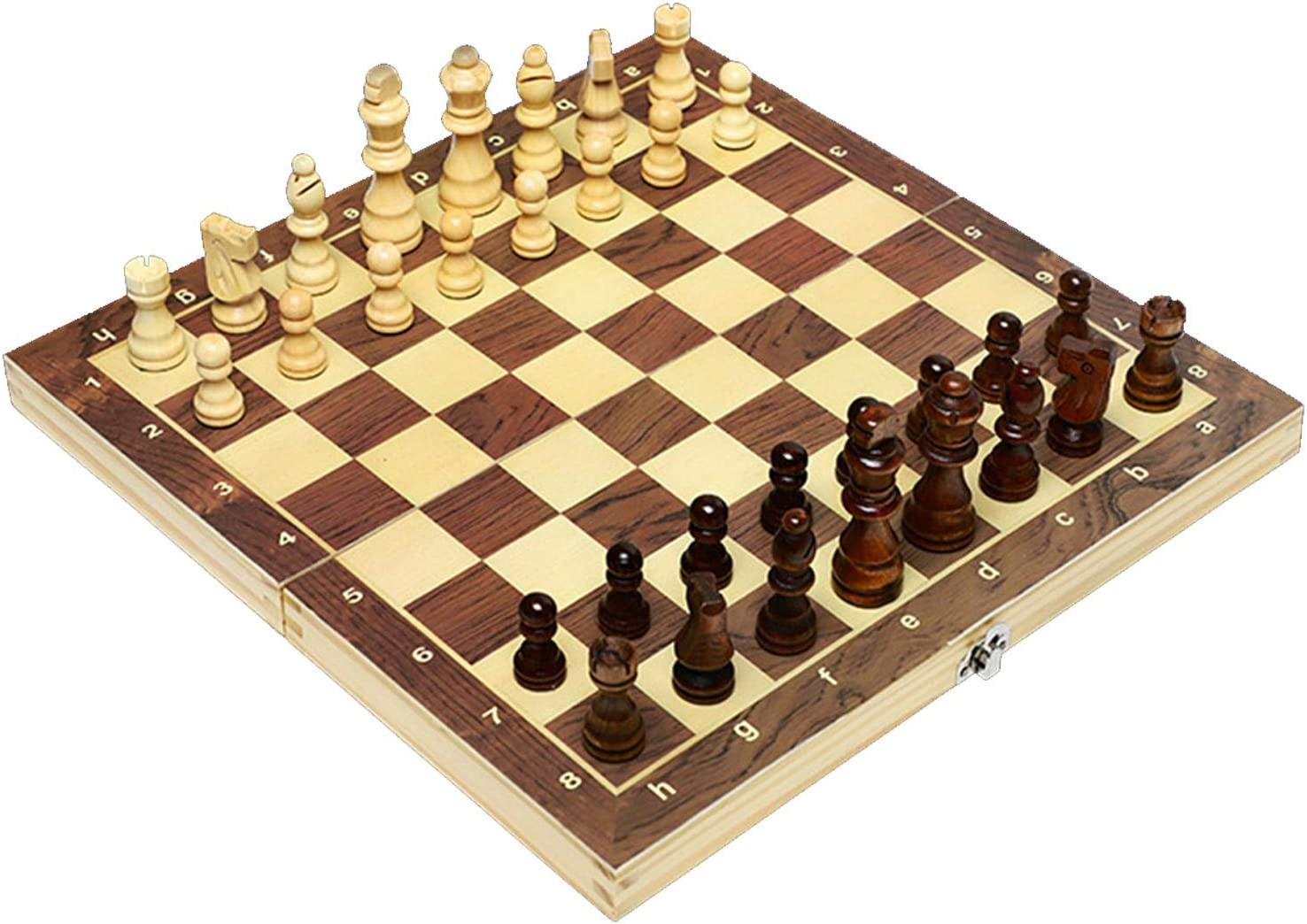 MAGRF Beginner Chess Set for Sales results No. 1 and Wooden Children Adults mart Magnetic