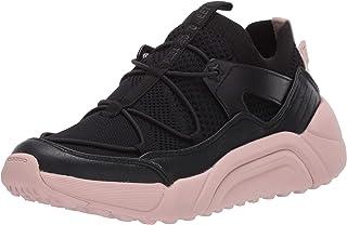 حذاء رياضي للنساء من Mark Nason Los Angeles - أسود/وردي - 8 M US