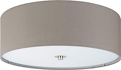 EGLO PASTERI illuminazione da soffitto Nichel, Grigio talpa E27