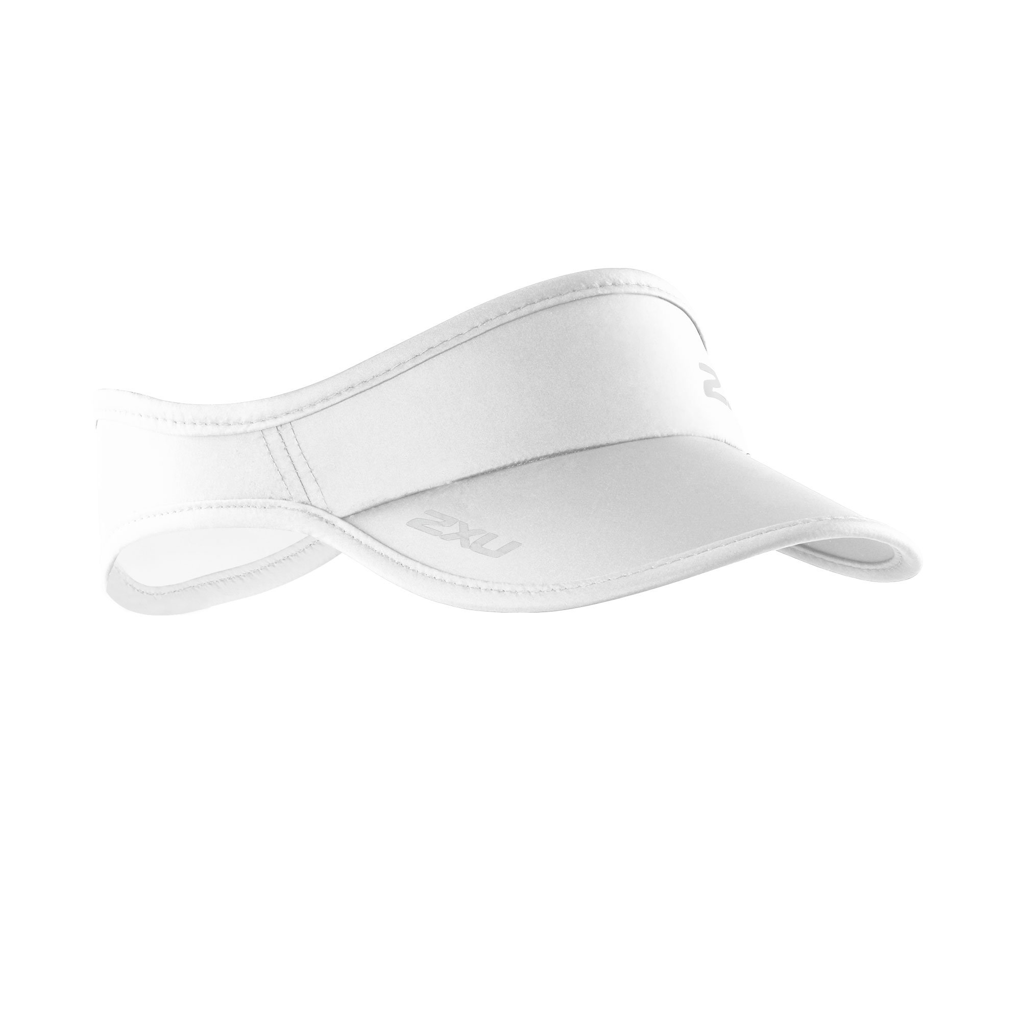 2XU Run Visor White Size