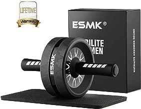 ESMK Ab Roller Wheel with Knee Pad