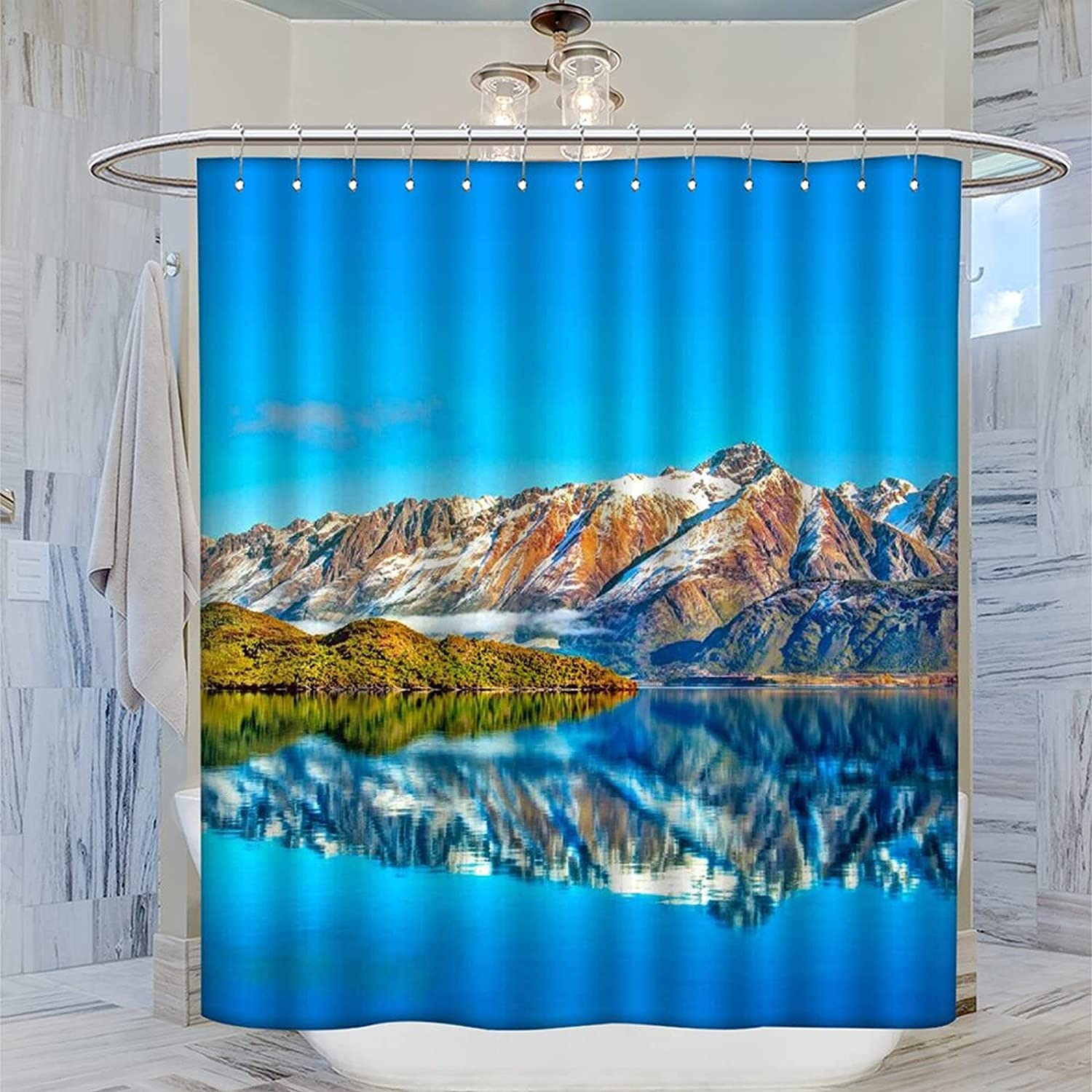 Lakes of Mountains and New Shipping Free Shipping Islands Curtain Bathro College Shower Ranking TOP13 Art