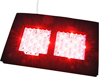 Infrared LED Therapy Dual Light, Dual NIR Infrared and Red Light Output Therapy Pad, Deep Penetration for Pain Relief, Safe, Effective, Easy, Aids Healing, Circulation, Chronic Pain, and Neuropathy!