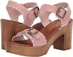 Twiggy Wooden Heeled Sandal