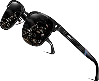 ATTCL Men's Polarized Sunglasses Al-Mg Ultra Light Metal Frame