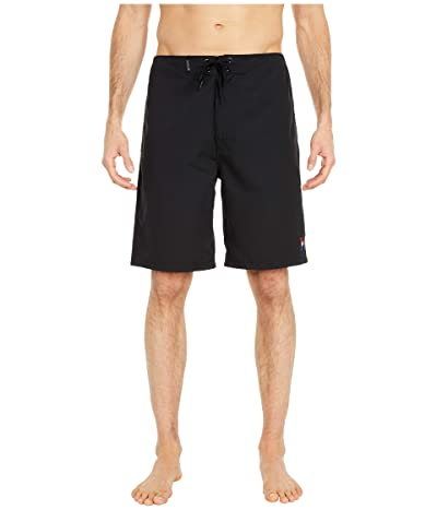 Hurley One Only 2.0 21 Boardshorts (Black/Red) Men