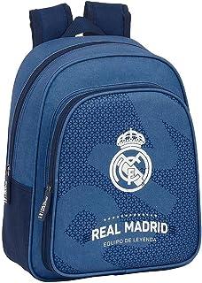 Safta 612124524 Mochila pequeña niño adaptable carro Real Madrid CF