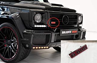 Brabus G800 style – Grille Badge Logo Emblem for Mercedes-Benz W463 G-Class vehicles