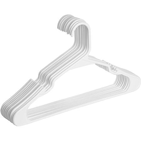 Mr. Pen- Plastic Hangers, 10 Pack, Hangers, Clothes Hangers, White Plastic Hangers, Clothing Hangers, Clothes Hangers Plastic, Hangers for Closet, Plastic Clothes Hangers, Shirt Hangers, Hangers White