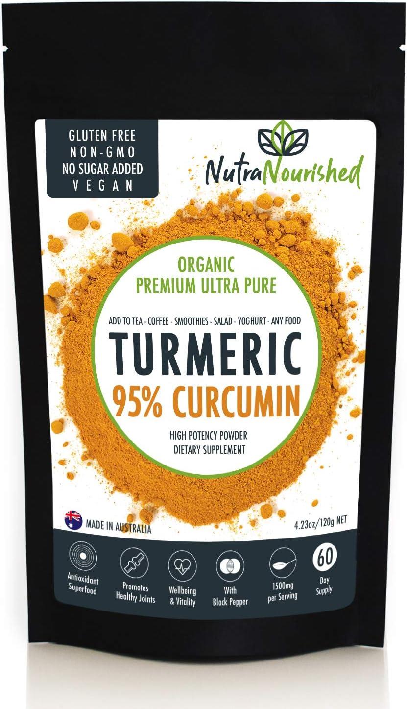 Turmeric Curcumin Powder Supplement with Black Pepper 000mg 1 Max 60% OFF Max 71% OFF