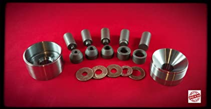 Self Centering Coin Ring Punch Set, No Spacers Needed, 1/4