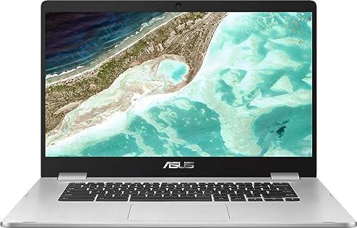 "new arrival ASUS Chromebook Laptop- 15.6"" HD Anti-Glare 2021 NanoEdge Display, Intel Dual Core Celeron N3350 Processor, 4GB RAM, 64GB eMMC, 180 Degree Hinge, Chrome lowest OS- C523NA-BCLN6 Silver outlet online sale"