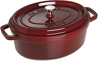 STAUB Cocotte Oval 29cm Grenadine red