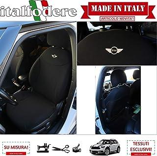 2016//10-2017//12 1 pezzo Coprisedile anteriore grande comfort per Mini Countryman nero