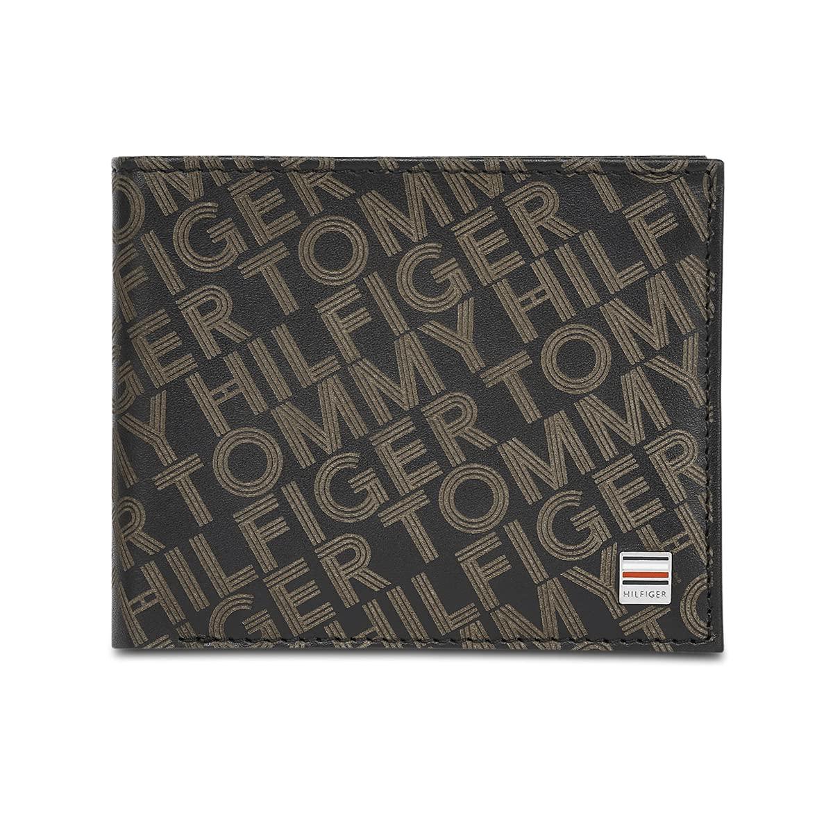 Tommy Hilfiger Black Leather Men's Wallet  8903496153491  Wallets
