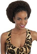 Vivica A Fox Hair Collection HKBK16-V Human Hair Afro Curl Kinky Bulk Extension, 1B, 5.8 Ounce