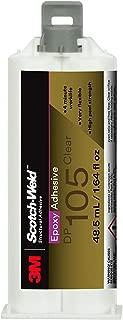 3M Scotch-Weld 08981 Epoxy Adhesive DP105 50 mL, 12 per case, DP105, Clear