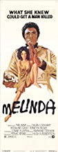 Melinda Movie Poster (14 x 36 Inches - 36cm x 92cm) (1972) Insert -(Calvin Lockhart)(Rosalind Cash)(Vonetta McGee)(Paul Stevens)(Rockne Tarkington)