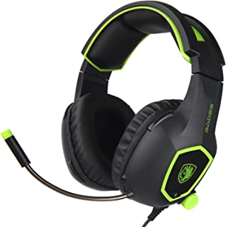 SADES SA818 Xbox One Mic PS4 PC Gaming Headset Gaming Over Ear Headphones with Mic for PS4, PS4 PRO, Xbox One, Xbox One S,...