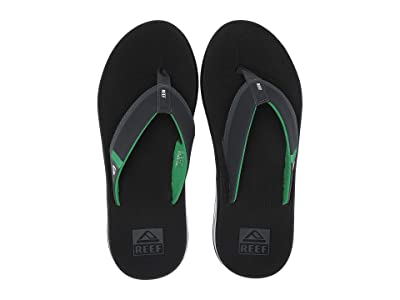 Reef Fanning Low (Black/Green) Men