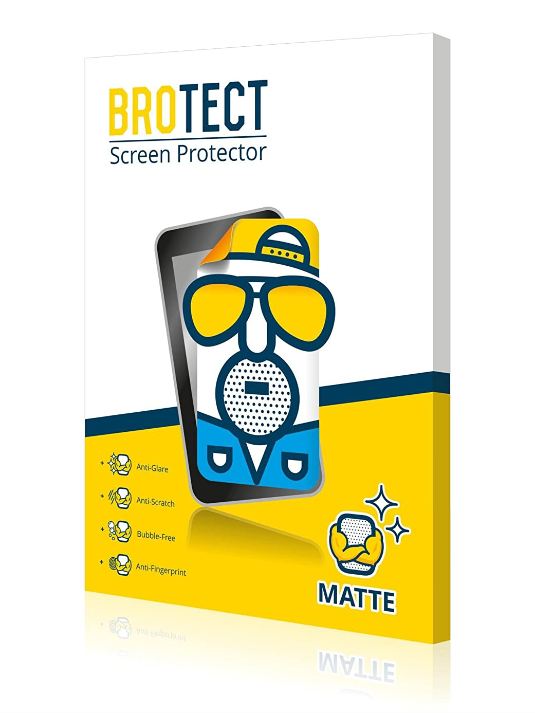 BROTECT. 2X Matte Screen Protector for Huawei Y9 2019, Matte, Anti-Glare, Anti-Scratch