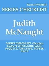 Judith McNaught - SERIES CHECKLIST - Reading Order of WESTMORELAND, SEQUELS, PARADISE, FOSTER SAGA