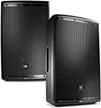 JBL EON 615 15 in Powered PA Speaker Pair Bundle