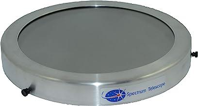 "Spectrum Telescope (ST9312G) Solar Eclipse Filter Fits: Celestron 8"" and Meade 8"" Schmidt-Cassegrain; Celestron: 8"" Newton..."