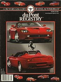 Dupont Registry March 2001 Ferrari 550 Barchetta Pininfarina Uncovered!