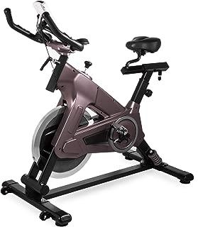 Popsport Indoor Cycling Bike Exercise Bike 18 22kg Height Adjustable Cycle Magnetic Dynamic Swing Flywheel Adjustable Resistance Real Swing Experience Bike