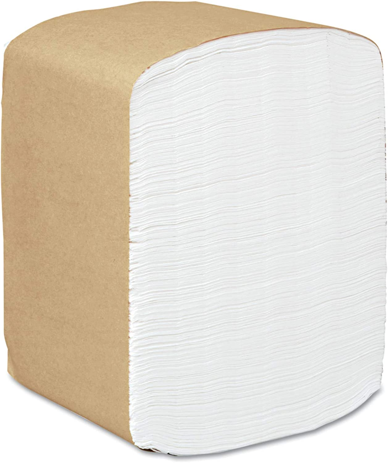 Scott 98740 Full Fold Dispenser Napkins, 1-Ply, 13 x 12, White, 375 per Pack (Case of 16 Packs)
