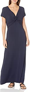 Amazon Essentials Women's Twist Front Maxi Dress