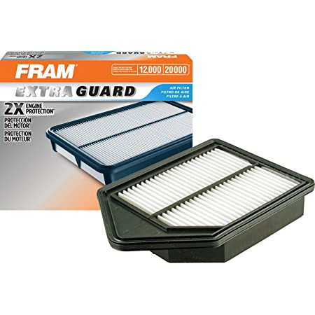 Fram Extra Guard Air Filter, CA10885 for Select Honda Vehicles, 1 filter