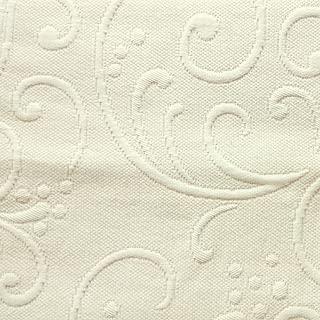 Europa Fine Linens Braga Matelasse Coverlet, King, Ivory